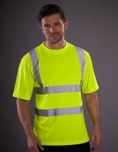 Two Band & Brace Hi Vis T-Shirt